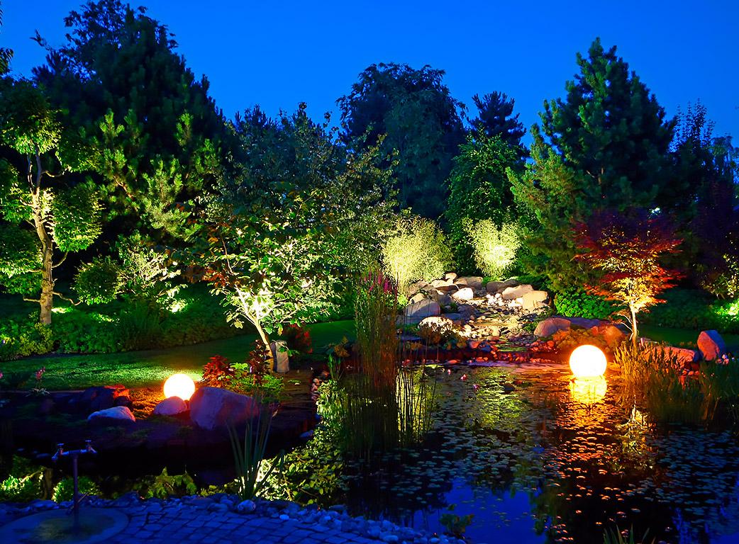 Garten-Licht - Start